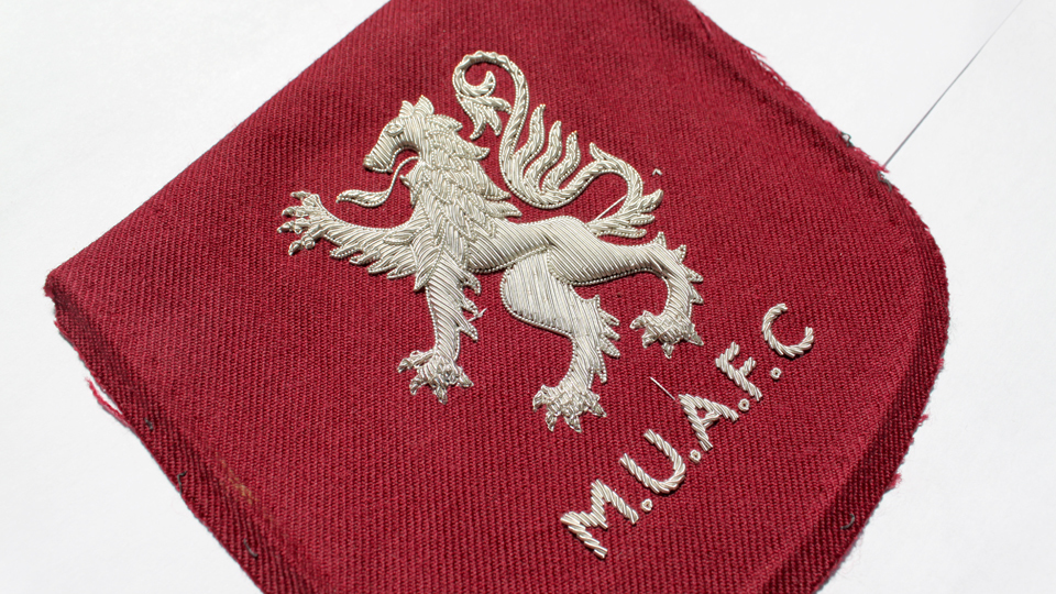 MUAFC blazer badge ceremonial