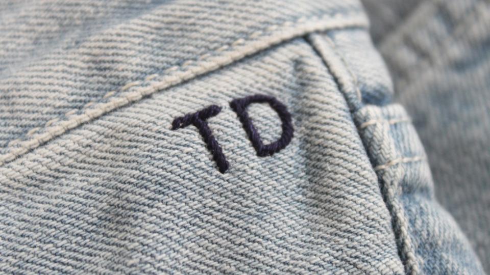 TD jeans monogram MIH