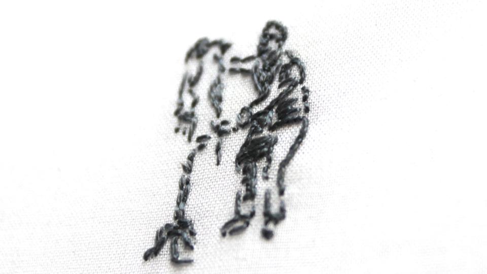 Alexander Boyd monogram embroidery