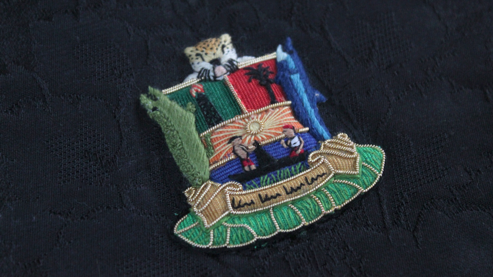 bespoke crest embroidery