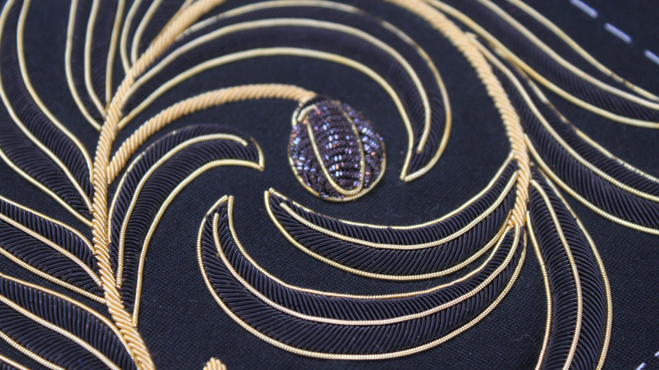 black goldwork