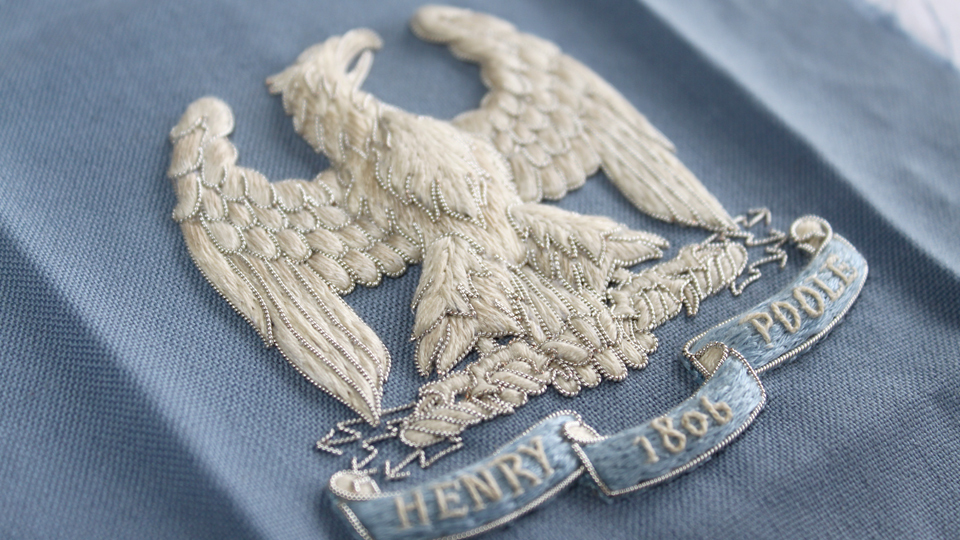 blazer badge eagle ceremonial