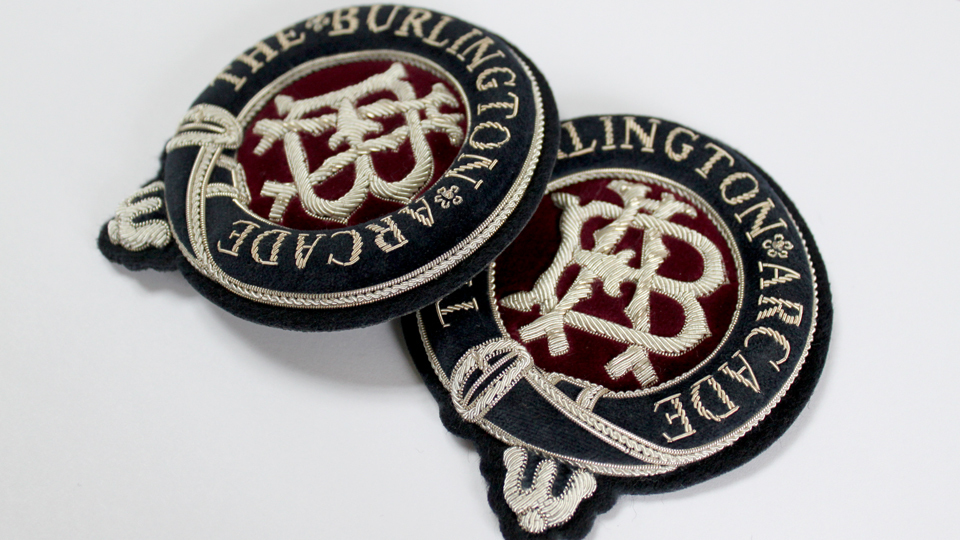 burlington arcade aigulette badge ceremonial