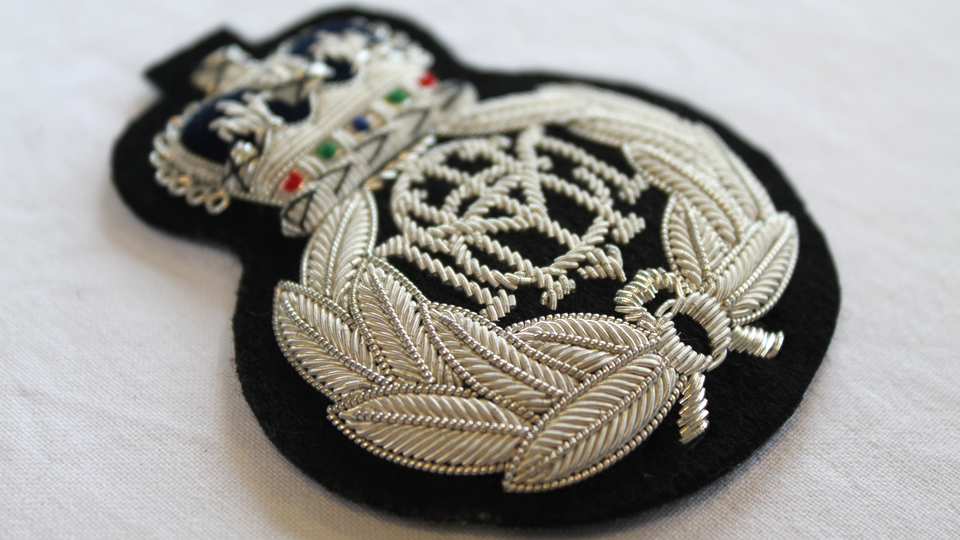 custom cap badge