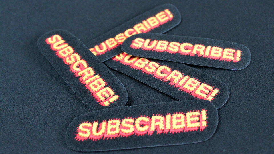 fashion embroidery subscribe