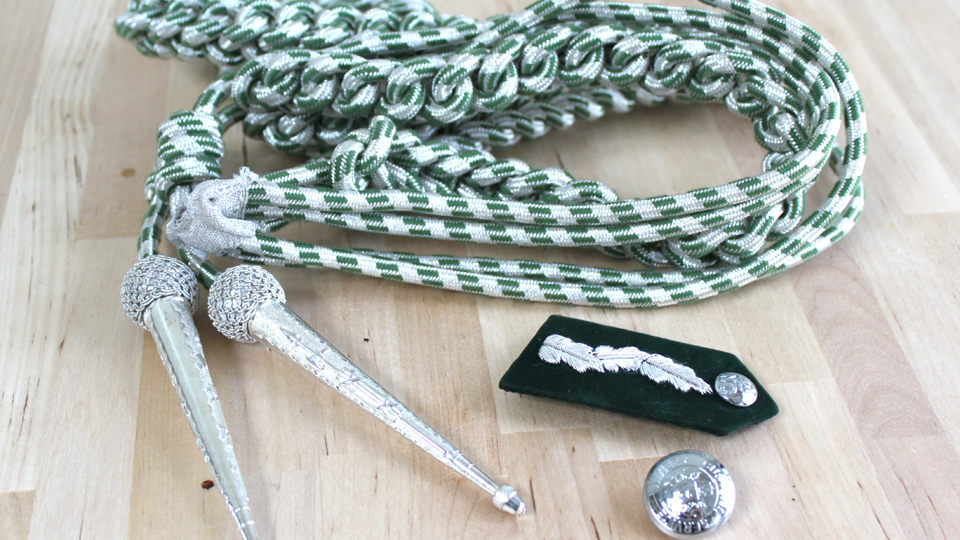 military accoutrements