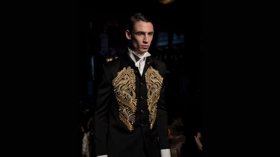 joshua kane bespoke menswear golden horse jacket