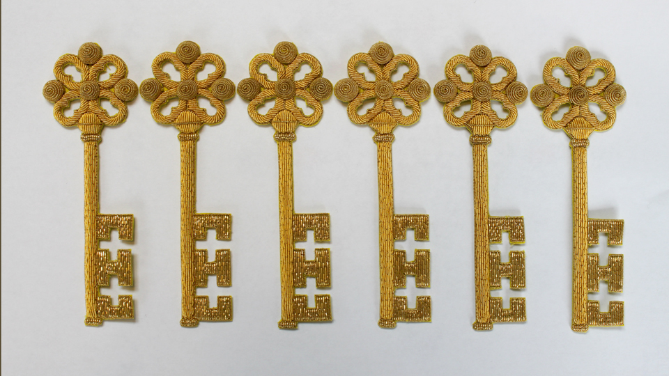 key embroidery ceremonial