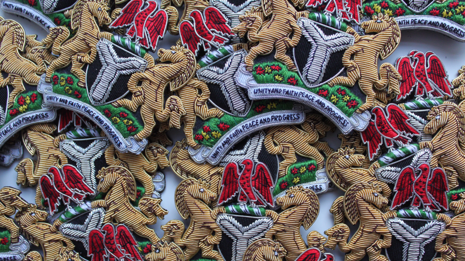 nigeria embroidery
