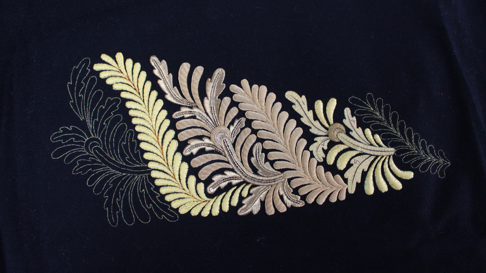 privvy council coat embroidery