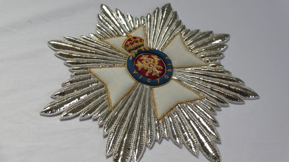 CEREMONIAL London Hand Embroidery