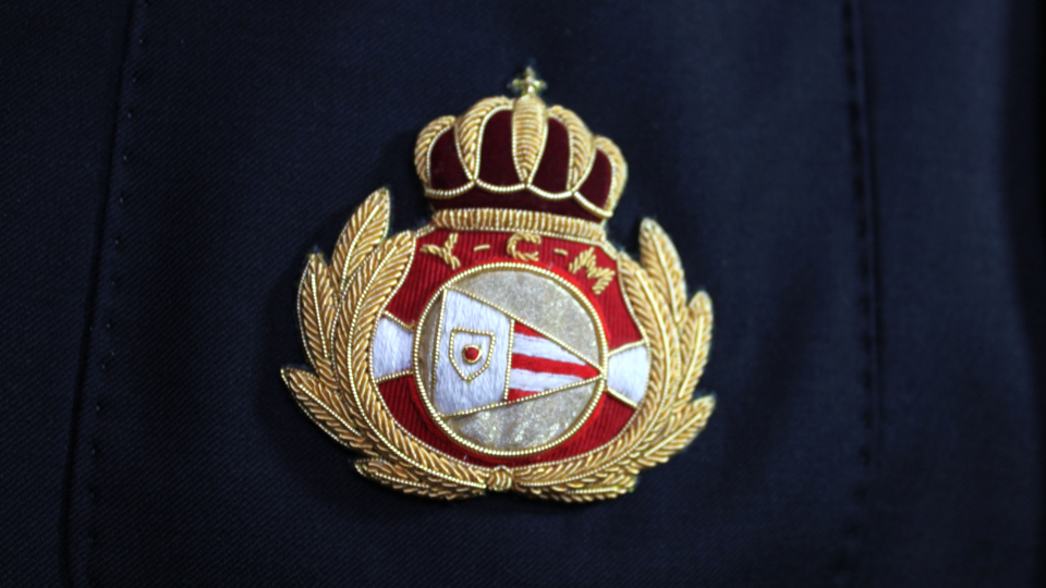yacht club cap badge