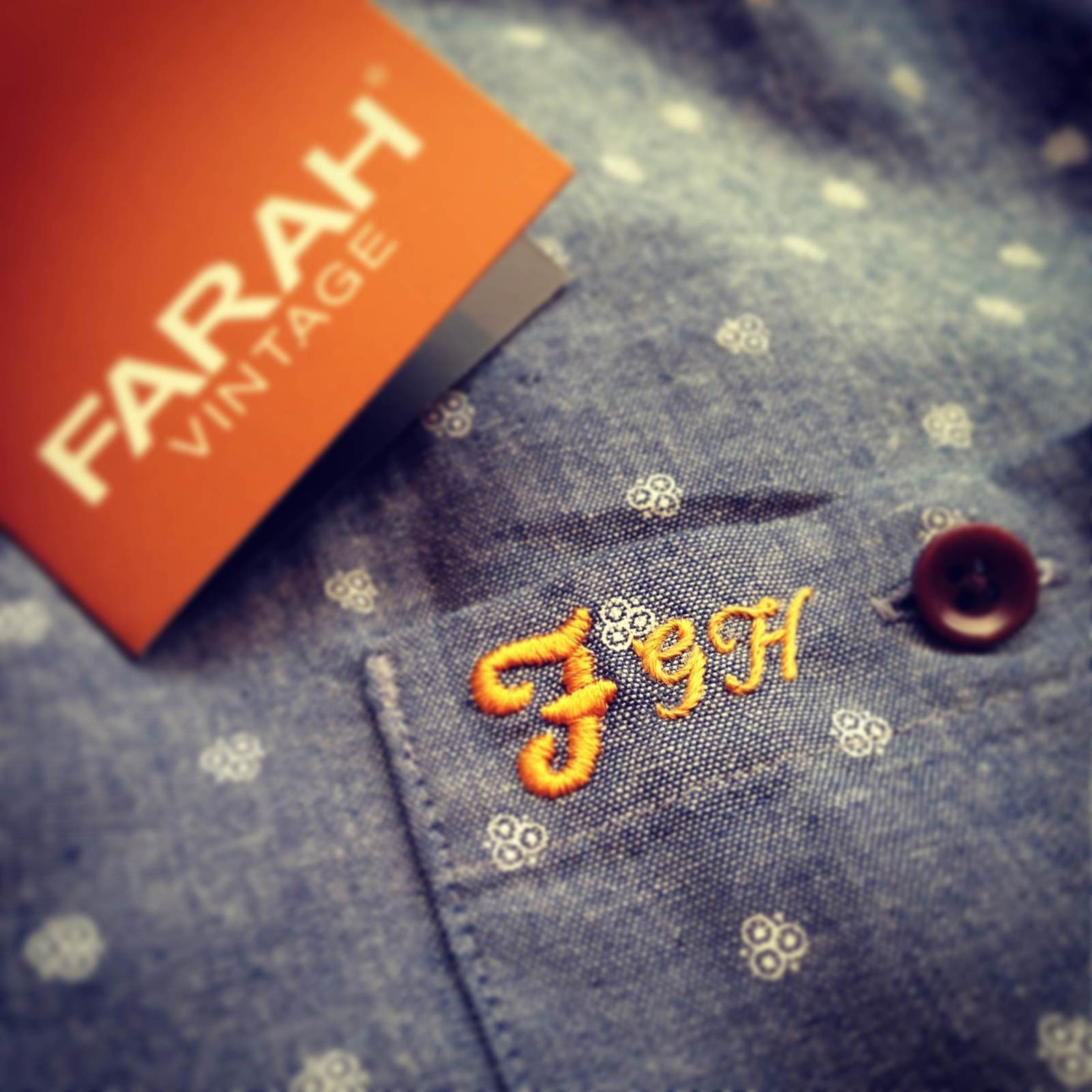Hawthorne & Heaney Events presents… Monogramming @ Farah Vintage London Hand Embroidery