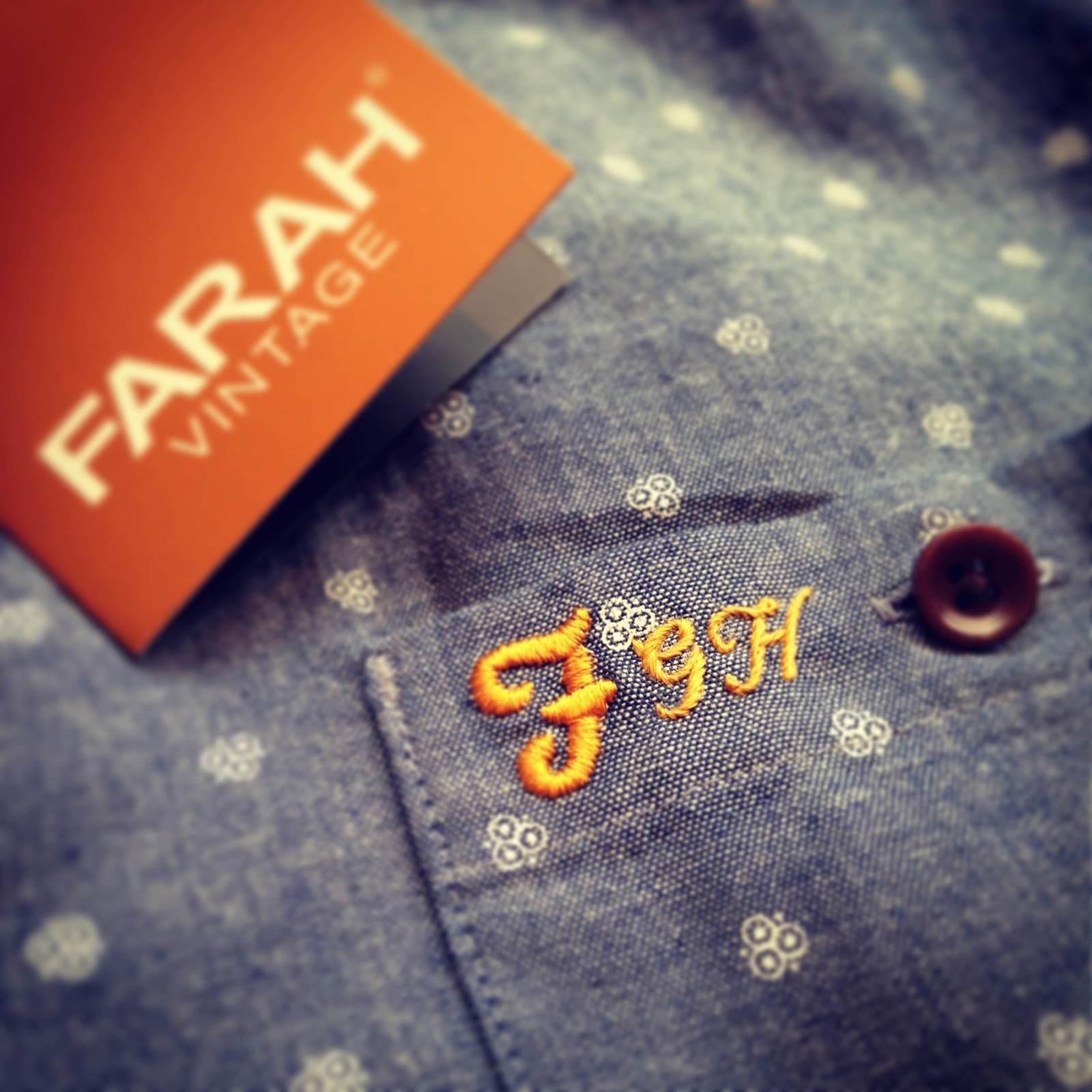 Farah initials