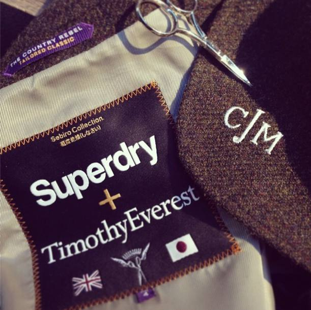 Hawthorne & Heaney Events presents... Monogramming for Superdry Premium London Hand Embroidery