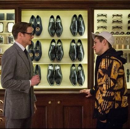 Hawthorne & Heaney meets 'Kingsman: The Secret Service' London Hand Embroidery
