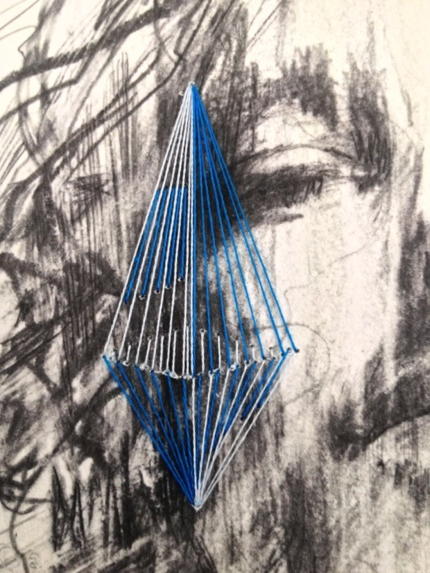 Hawthorne & Heaney for Carne Griffiths, Embroidery in Art London Hand Embroidery