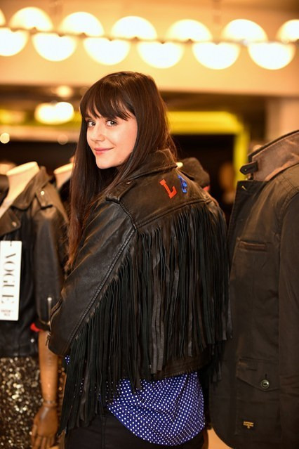 Lilah Parsons superdry jacket