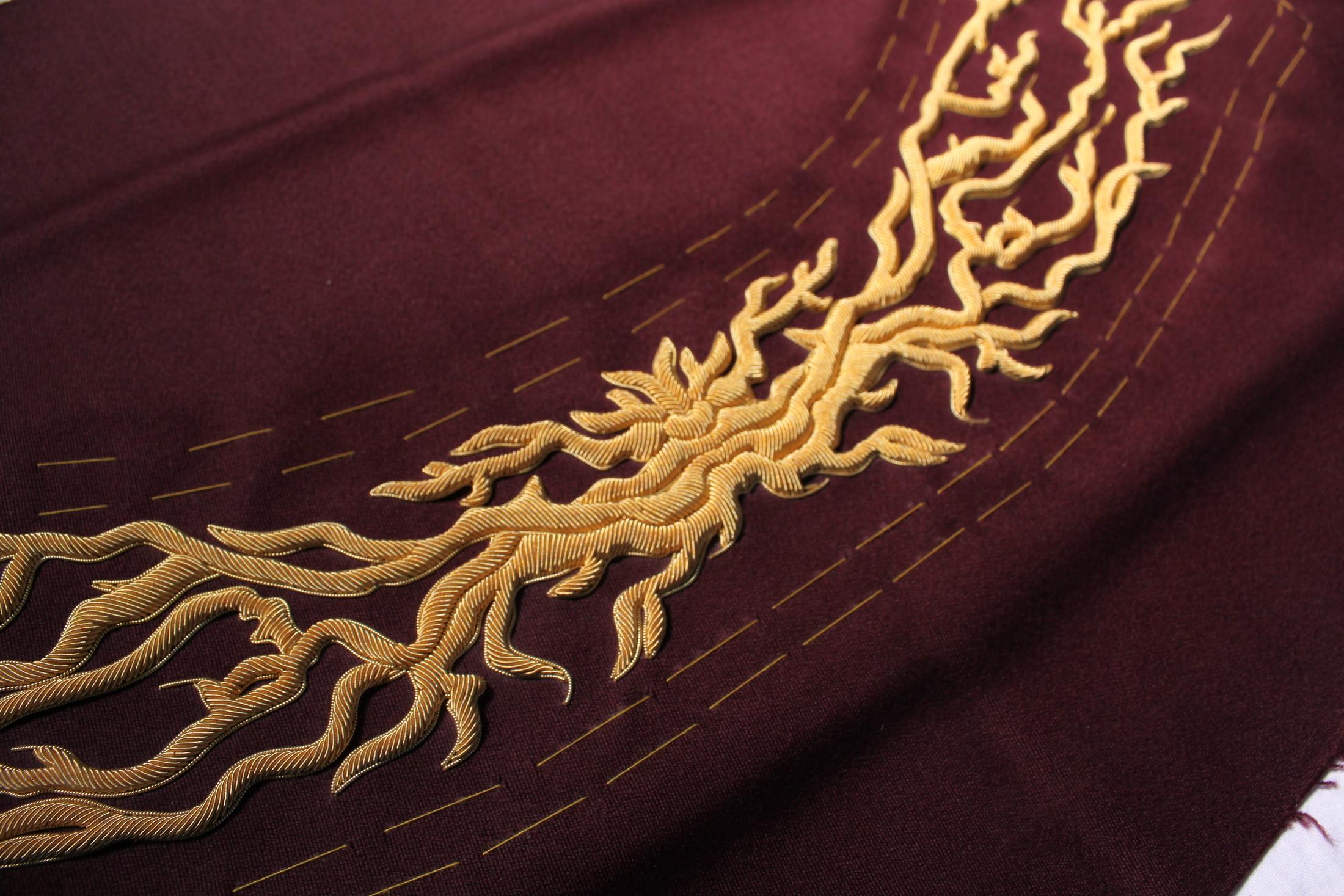 Hawthorne & Heaney does Joshua Kane SS16 London Hand Embroidery