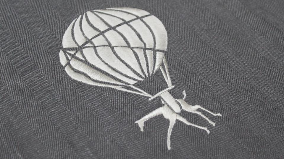 custom embroidery interiors