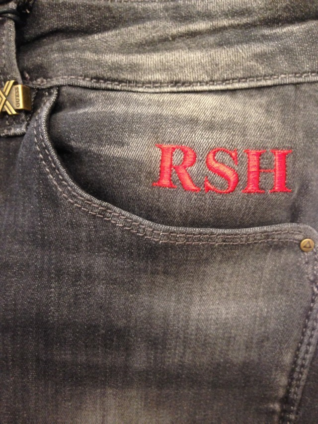 Hawthorne & Heaney at the Guess Denim Promotion London Hand Embroidery