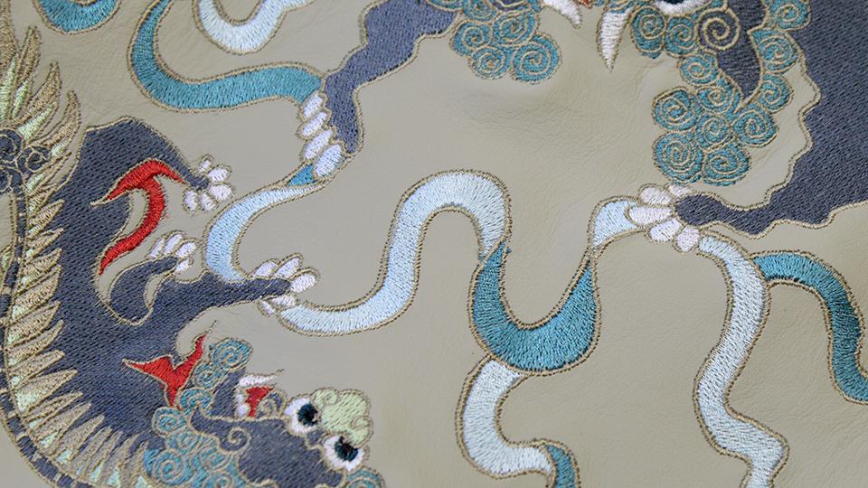 dragon embroidery machine hakkasan