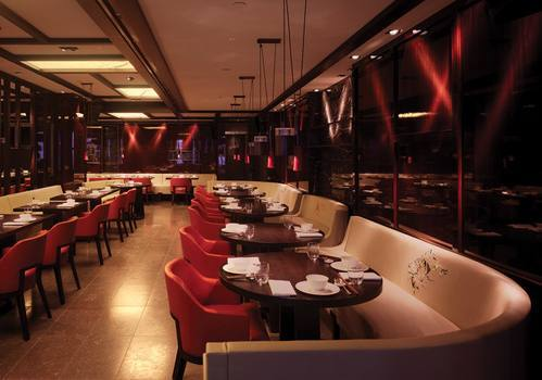 Hawthorne & Heaney for HAKKASAN - Practical application of interiors embroidery London Hand Embroidery
