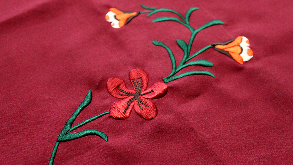Bruta arthur bespoke embroiery for shirts