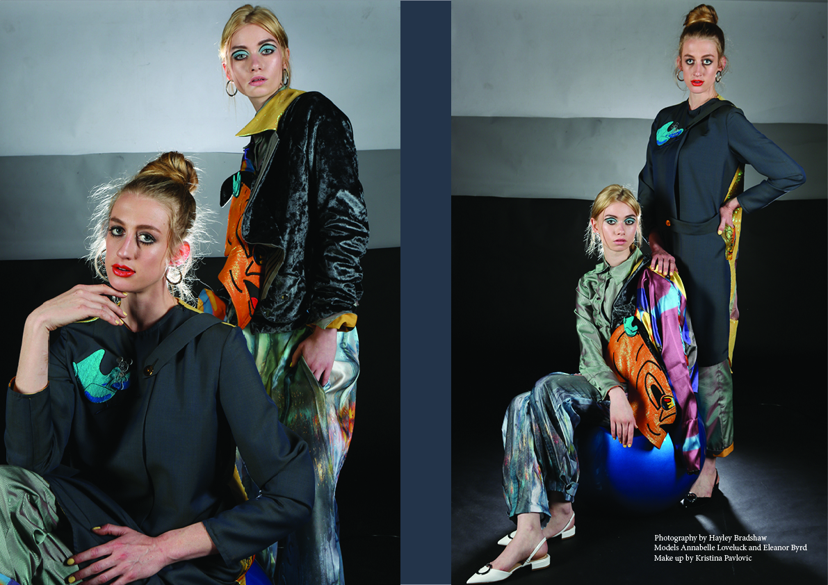 Hawthorne & Heaney for Young Designers London Hand Embroidery