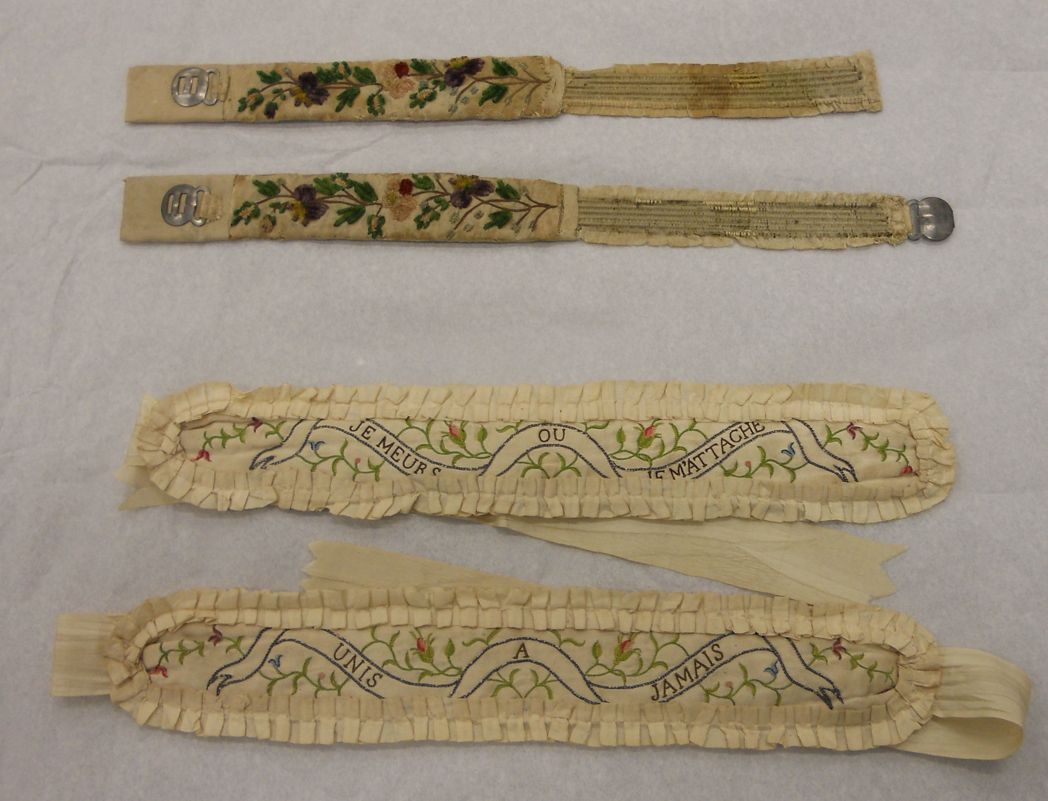 v and a underwear garters