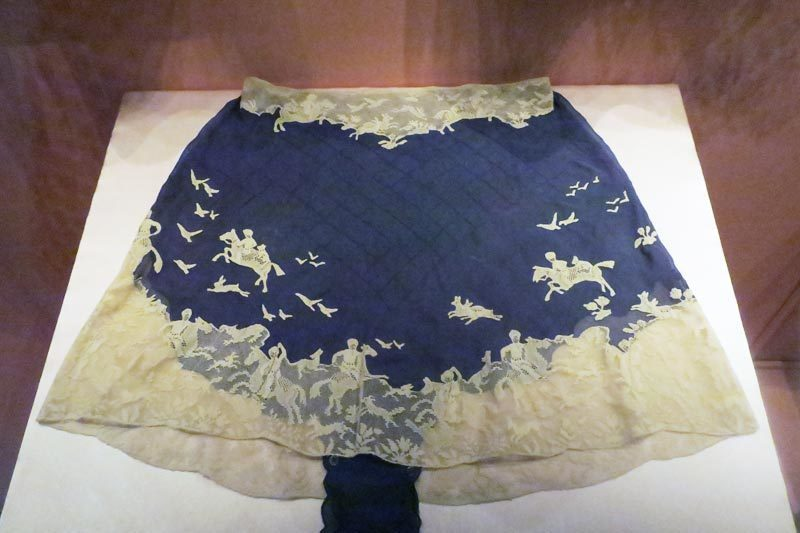 Hawthorne & Heaney at the V&A's Undressed Exhibition London Hand Embroidery