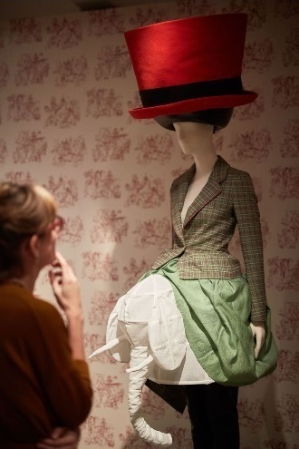 Hawthorne & Heaney Visits The Vulgar: Fashion Redefined Exhibition at the Barbican London Hand Embroidery