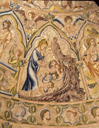 Hawthorne & Heaney Visits Opus Anglicanum at the V&A London Hand Embroidery