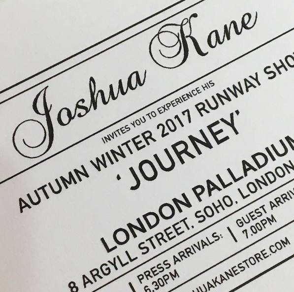 Hawthorne & Heaney for Joshua Kane A/W 2017 London Hand Embroidery