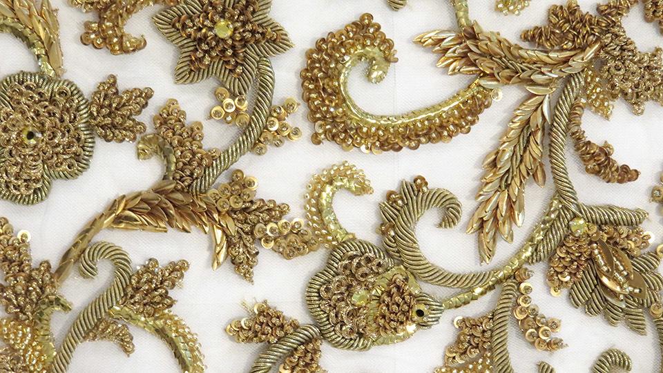 Bespoke Embroidery   HAWTHORNE U0026 HEANEY