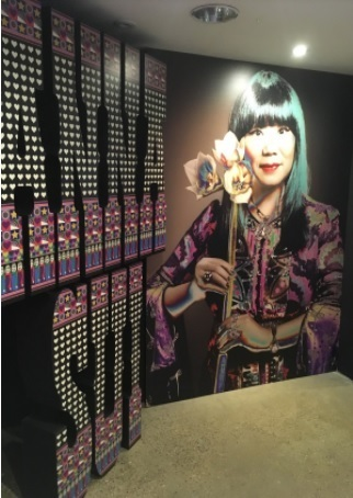 Hawthorne & Heaney Visits Anna Sui Exhibition London Hand Embroidery