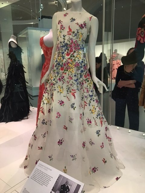 Hawthorne & Heaney Visits Balenciaga: Shaping Fashion London Hand Embroidery