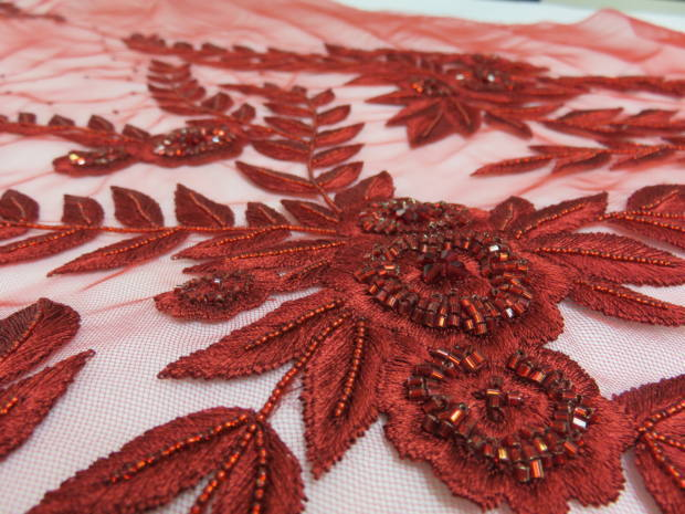 Hawthorne & Heaney does Couture London Hand Embroidery