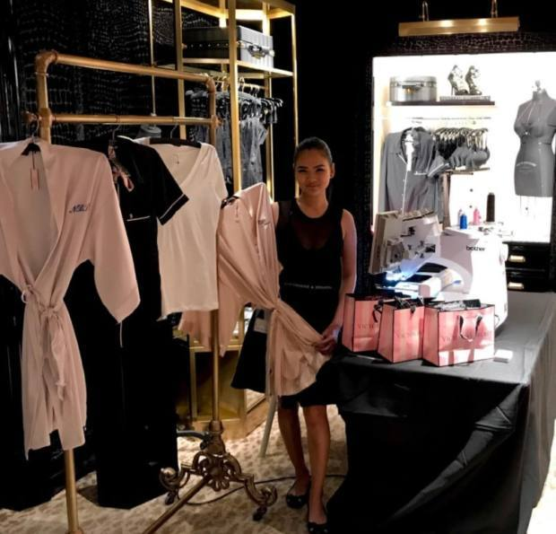Hawthorne & Heaney does Victoria Secret London Hand Embroidery