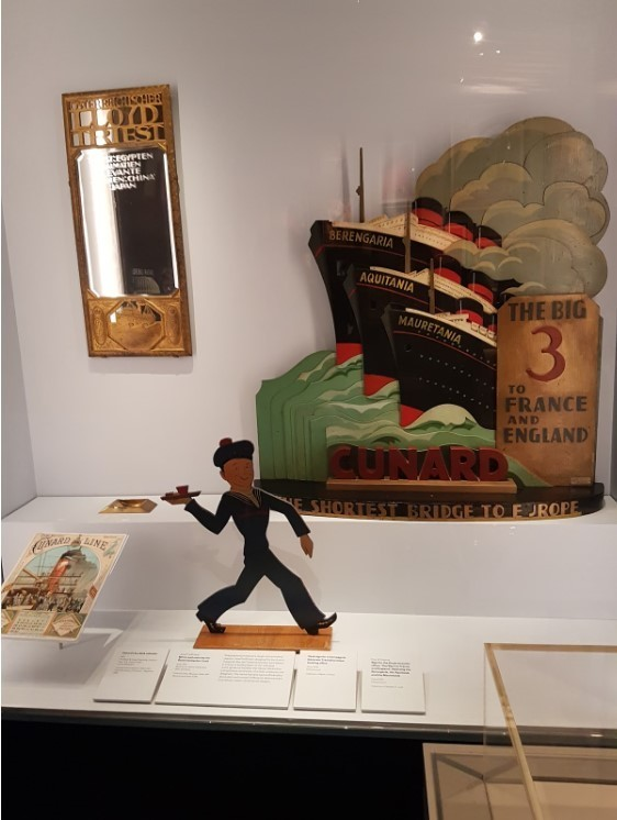 Hawthorne & Heaney goes to Ocean Liners: Speed and Style London Hand Embroidery