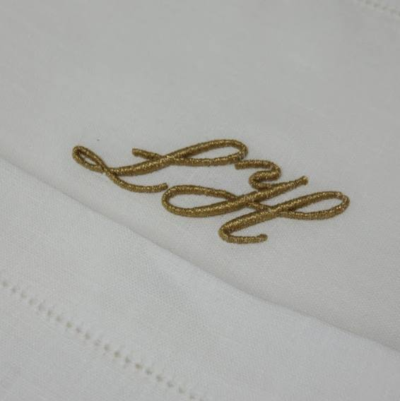 Hawthorne & Heaney does Wedding Details London Hand Embroidery