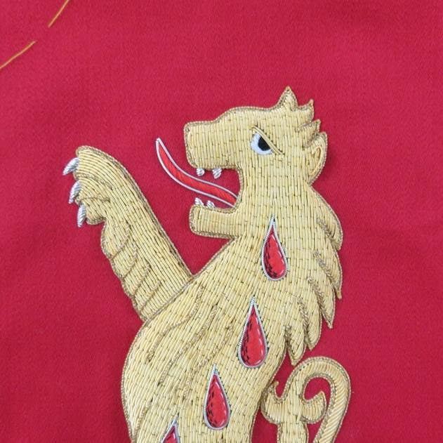 Hawthorne & Heaney for the Worshipful Company of Broderers London Hand Embroidery