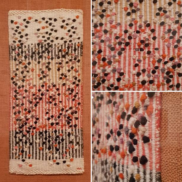 Hawthorne & Heaney visits Anni Albers at Tate Modern London Hand Embroidery