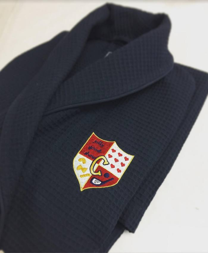 Hawthorne & Heaney on Crests London Hand Embroidery