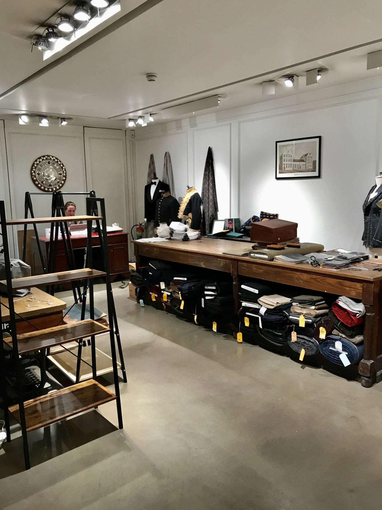 Hawthorne & Heaney on Savile Row: Our New Showroom London Hand Embroidery