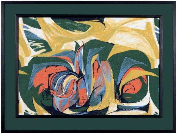 Hawthorne and Heaney take a look at Messums London: MATERIAL:TEXTILE, Modern British Female Designers London Hand Embroidery