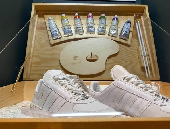 Sneaker Unboxed - Studio to Street London Hand Embroidery