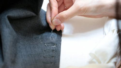 Bespoke hand embroidery